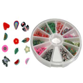 Fimo Nail Art Polymer Sliced Clay Canes